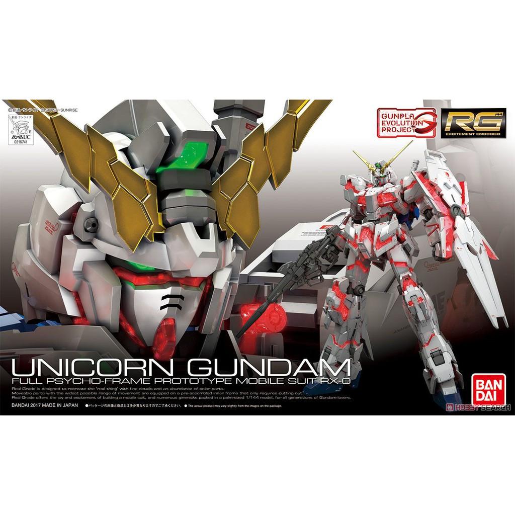 Mô hình Gundam RG25 Unicorn