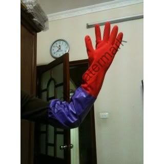[SALE GIÁ SỐC]  Găng tay cao su dài lót nỉ