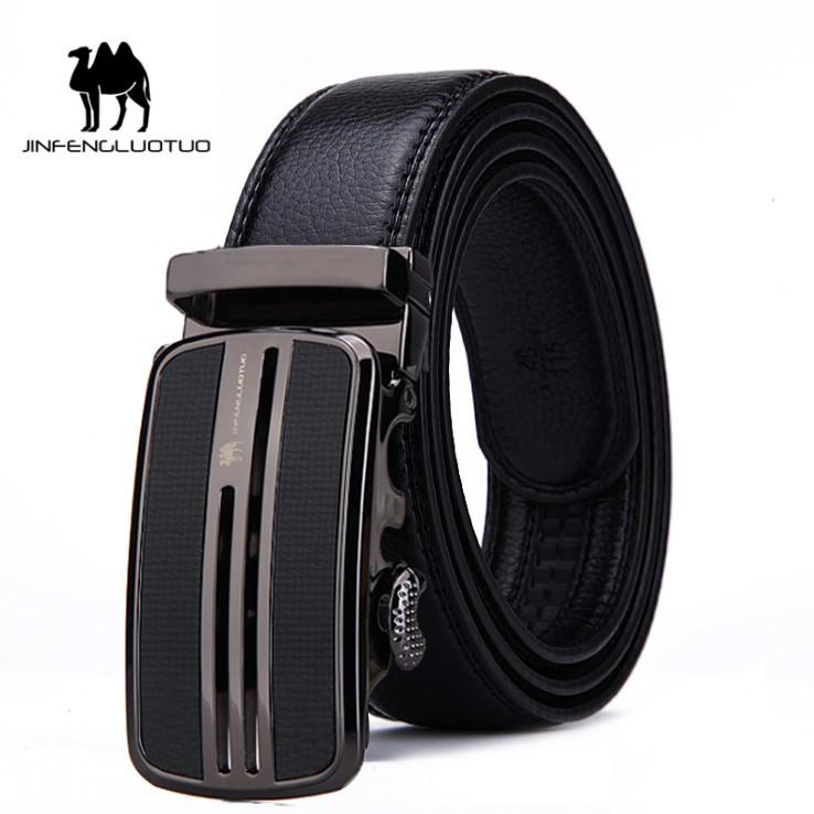 (NEW 2019 Men's Belt) Bảo Hành 1 Năm - Dây Nịt Thắt Lưng Da Bò Thật Cao Cấp AGZC016 - Hàng Nhập Khẩu - Nam Nữ