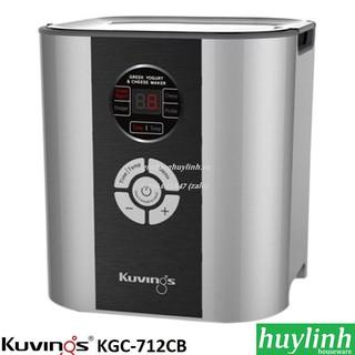 Máy làm sữa chua - phô mát Kuvings KGC-712CB - Hàn Quốc [Đỏ - Bạc]
