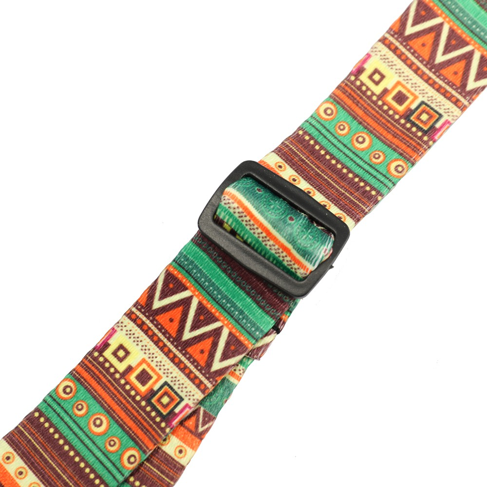 Colorful Ukulele Straps Thermal Transfer Ribbon Ethnic Style Practical Little Guitar Belt Musical Inst