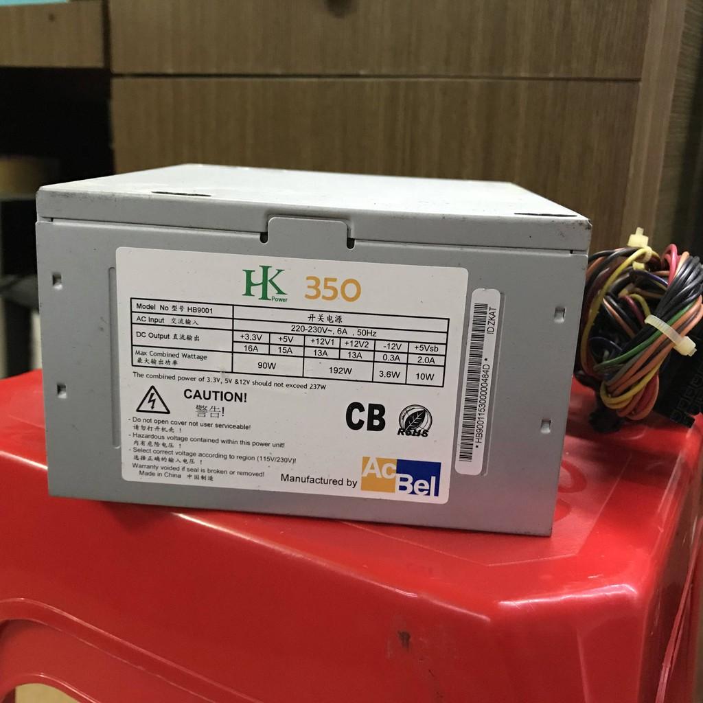 Bộ nguồn Acbel HK 350 350W fan 12cm (qua sử dụng)