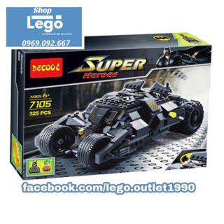 Xếp hình Lego The Tumbler: Joker's Ice