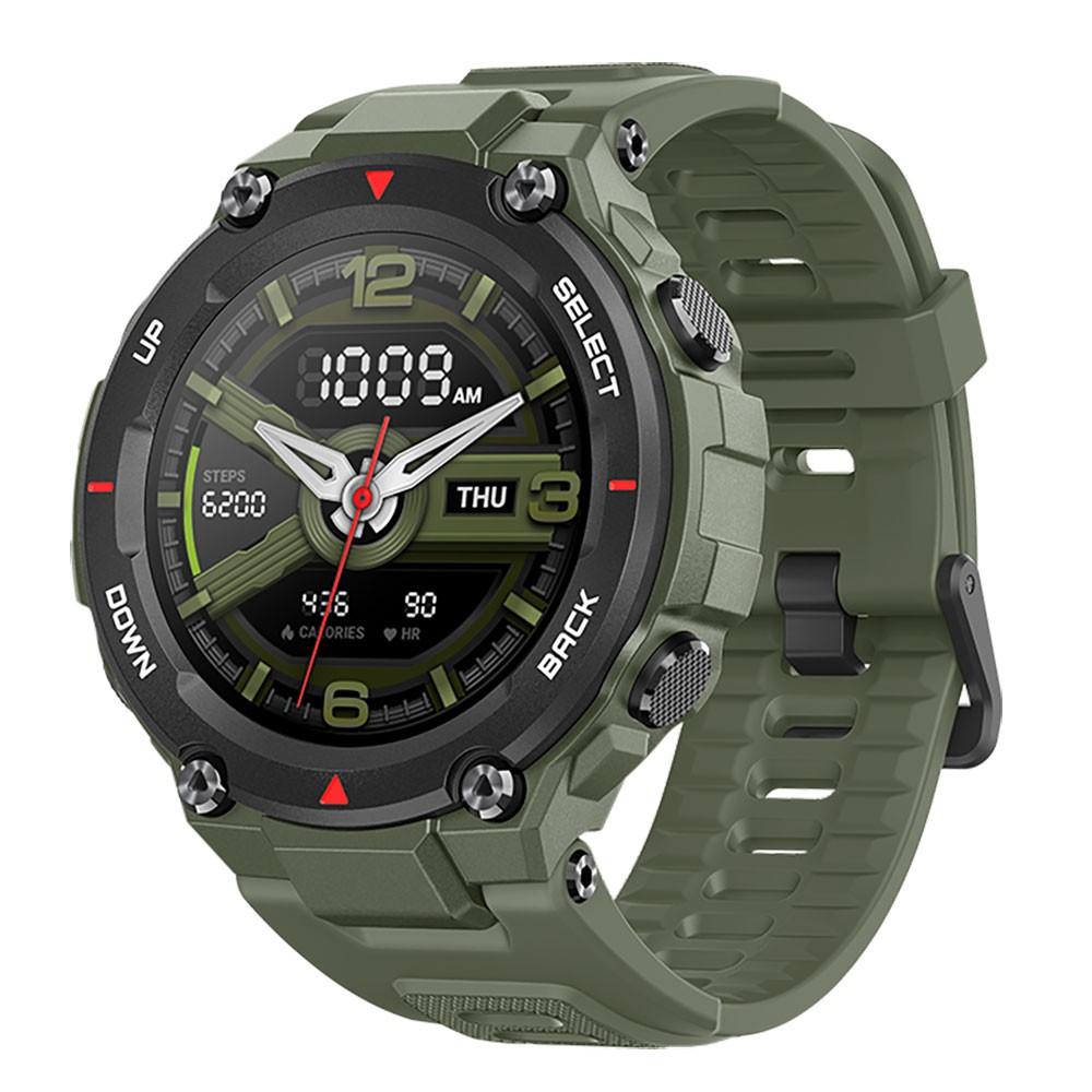 [Bản Quốc Tế] Đồng hồ thông minh Xiaomi Huami Amazfit T-Rex (GREEN) Theo Dõi Vận Động, Sức Khỏe - Bảo Hành 12 Tháng