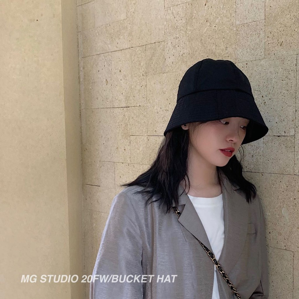 MG STUDIO/Trendy dome bucket hat #2