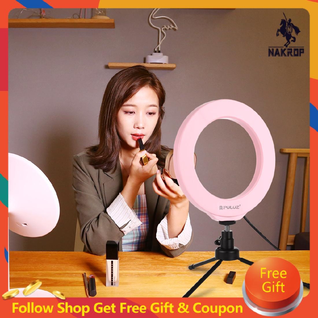 Puluz 6.2 Inch 16cm Rgbw Dimmable Led Ring Photography Light Fill Light With Remote Control - 22913544 , 7910528797 , 322_7910528797 , 498000 , Puluz-6.2-Inch-16cm-Rgbw-Dimmable-Led-Ring-Photography-Light-Fill-Light-With-Remote-Control-322_7910528797 , shopee.vn , Puluz 6.2 Inch 16cm Rgbw Dimmable Led Ring Photography Light Fill Light With Re