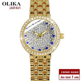[Mã FARSBR243 giảm 15% đơn 249K] Đồng hồ nữ OLIKA JAPAN Đính Đá Sang Trọng - Tặng Kèm Pin ĐH Dự Phòng thumbnail