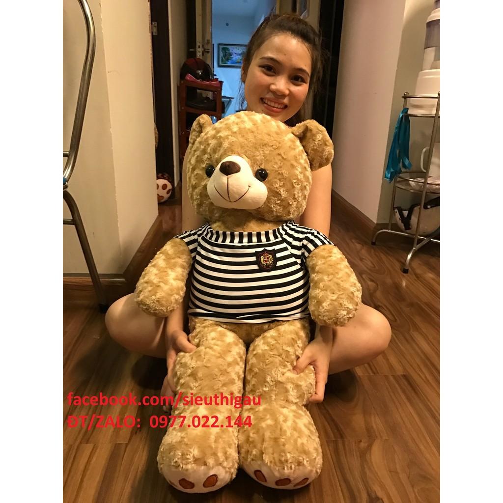 Chỉ 320k - Gấu Teddy 1m - Gấu bông Teddy khổ 1m giá rẻ