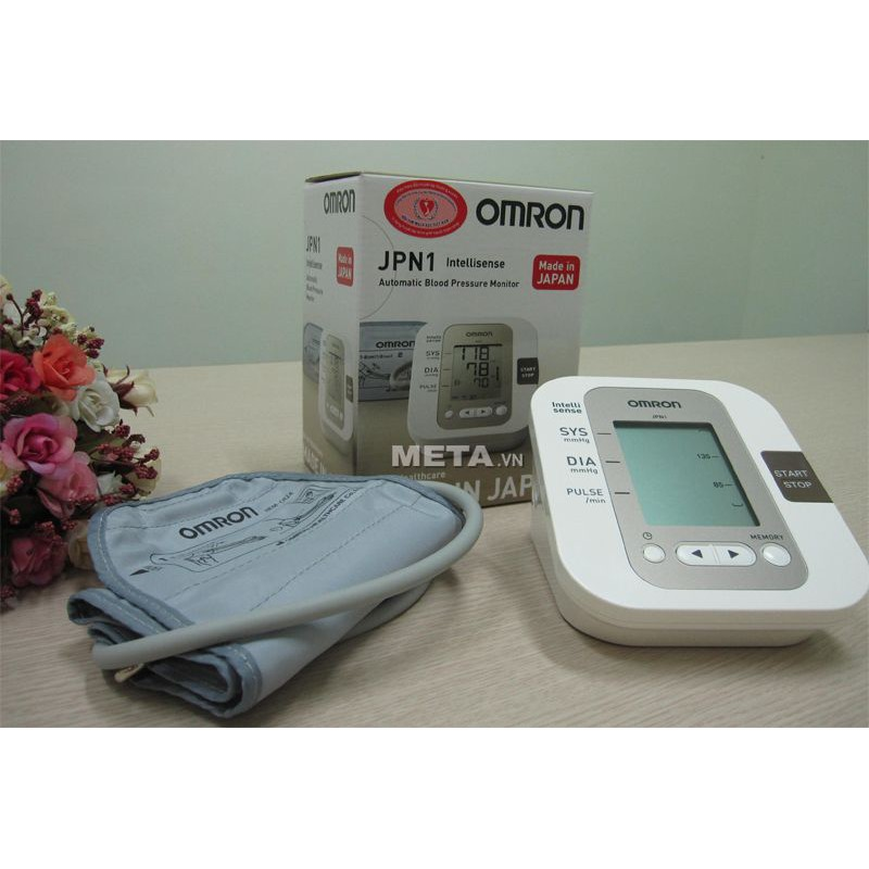 Máy đo huyết áp bắp tay tự động OMRON JPN1 (made in Japan) - 3548013 , 1141201038 , 322_1141201038 , 1700000 , May-do-huyet-ap-bap-tay-tu-dong-OMRON-JPN1-made-in-Japan-322_1141201038 , shopee.vn , Máy đo huyết áp bắp tay tự động OMRON JPN1 (made in Japan)