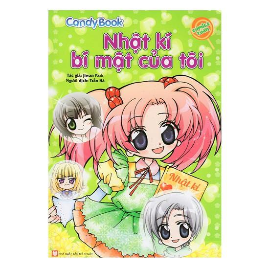 [ Sách ] Candy Book - Nhật kí bí mật của tôi
