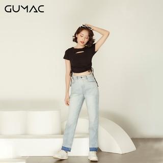 [Mã WAFAST hoàn 20% tối đa 100k xu đơn 250k] Quần jeans wax lai QJA937 GUMAC
