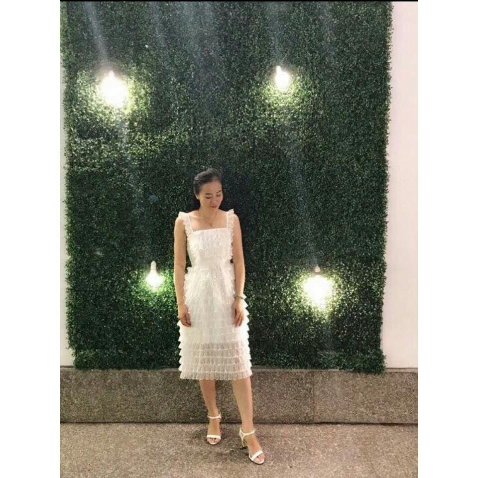 Đầm dự tiệc đầm ren tầng sang trọng, đầm ôm body ren cá tính Cloudy Dress