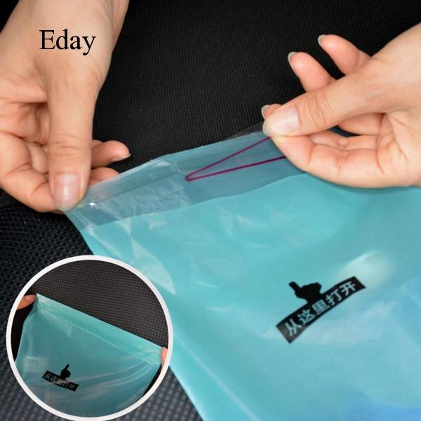 50PCS Disposable Hanging Car Garbage Trash Litter Bag Container for Auto Truck Minivan Van SUV Boat 38x18cm