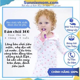 Bàn chải 360 độ babybuddy Mỹ làm sạch răng cho bé lẻ 1 chiếc