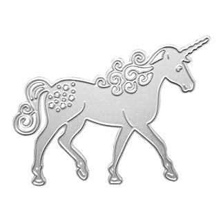 Horse Cutting Dies Stencil Scrapbooking Embossing Card Paper