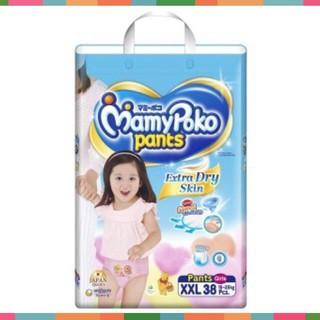 Tã quần Mamypoko XXL38 cho bé gái từ 17-23kg_Cúc Phương