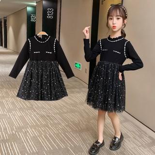 Váy thu đông cho bé gái lớn, size đại từ 4 - 14 tuổi, từ 15 - 45kg - kèm ảnh thật