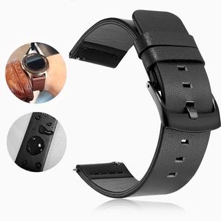 Dây Đồng Hồ Bằng Da Thật 20mm 20-24mm Cho Samsung Galaxy Watch Active