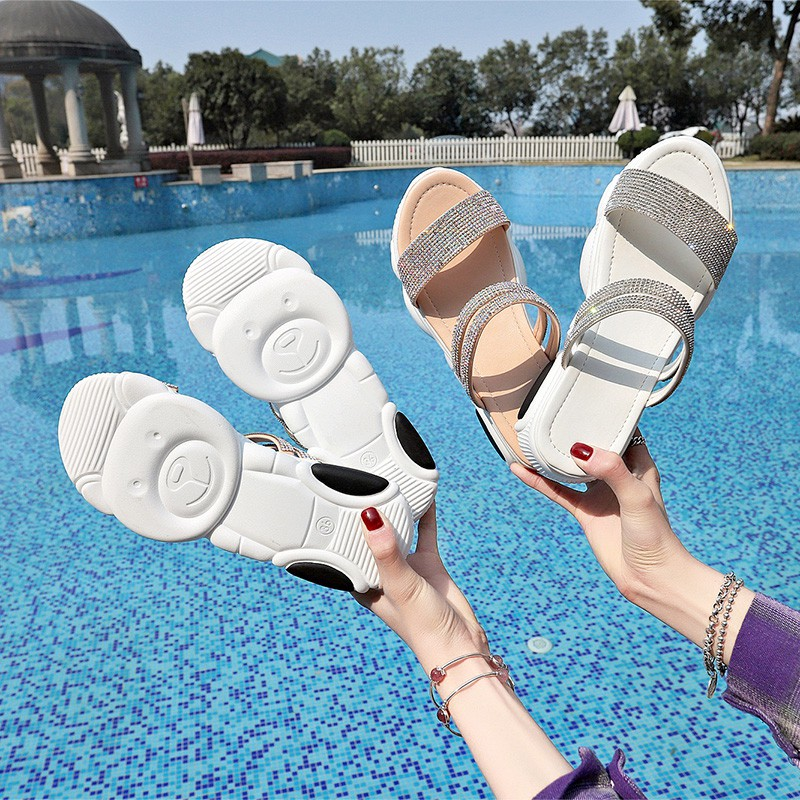 Slippers Outside Women's Fashion Summer 2019 New Water Drill