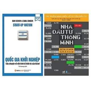 Combo 2 cuốn nhà đầu tư thông minh, quốc gia khởi nghiệp