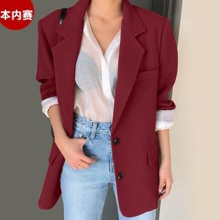 Áo Khoác Vest Dáng Rộng Thời Trang Xuân Thu Hàn Quốc Cho Nữ