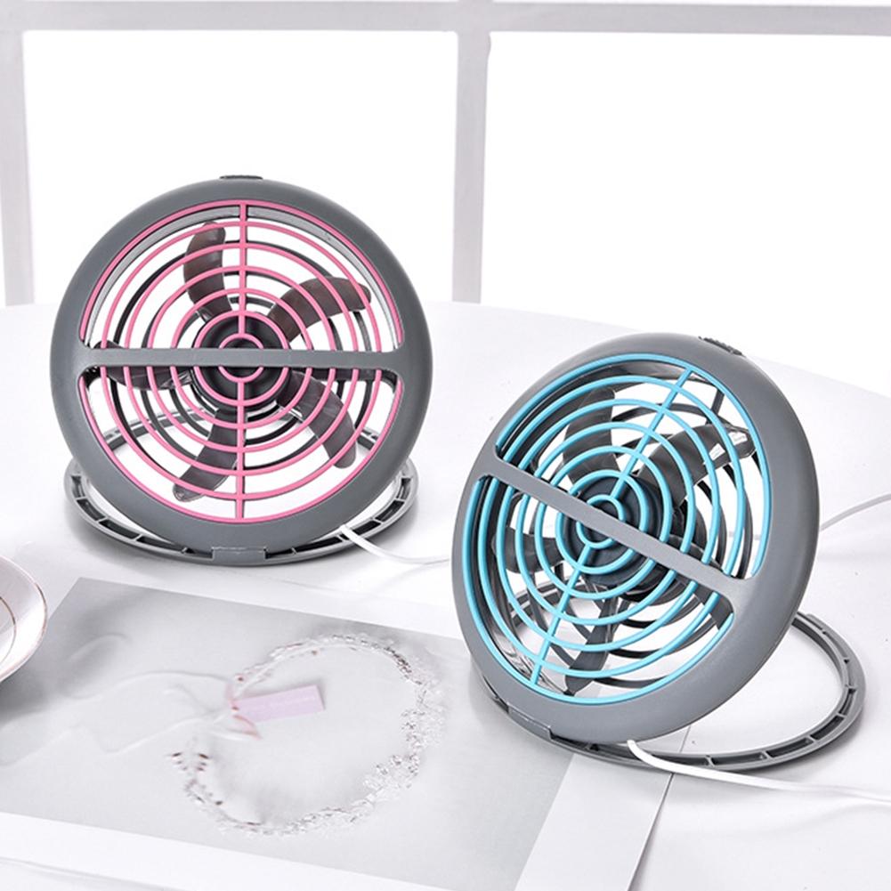 Cooling Mini Adjustable Angle Summer Office Foldable Desktop Gift Home USB Fan