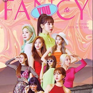 TWICE ALBUM FANCY YOU- Official nguyên seal