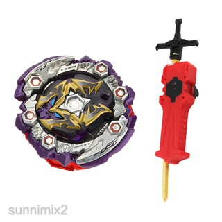 MagiDeal Burst Spinning Top Launcher Toy B-125 01: Dead Hades 11Turn Zephyr'