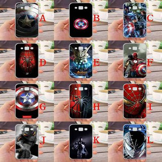For Samsung Galaxy E5 Avengers Silicone Phone Case