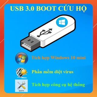 USB 3.0 BOOT CỨU HỘ MÁY TÍNH, GHOST MÁY