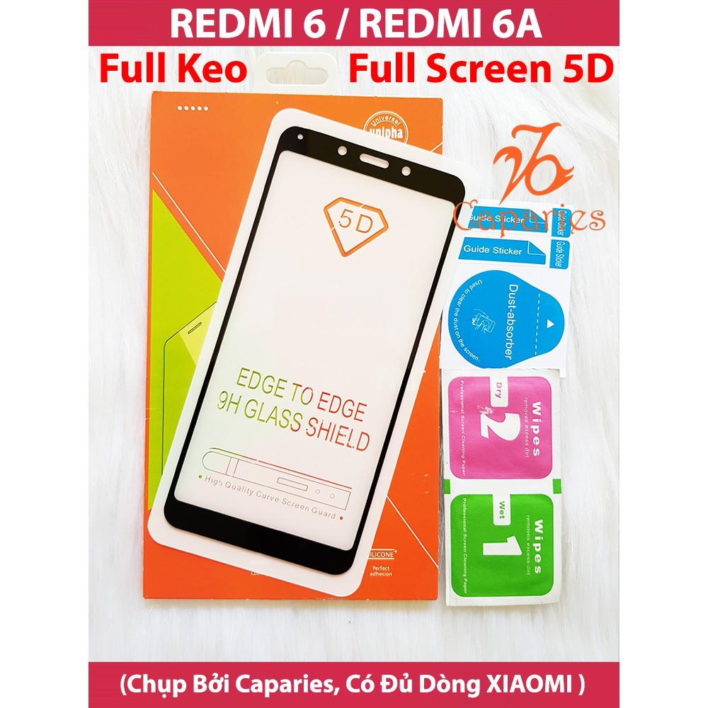 (Có 2 Màu) Kính Cường lực 5D cho XIAOMI REDMI 6 Full màn hình 5D CAPARIES SIÊU BỀN - 15282301 , 1409192255 , 322_1409192255 , 39000 , Co-2-Mau-Kinh-Cuong-luc-5D-cho-XIAOMI-REDMI-6-Full-man-hinh-5D-CAPARIES-SIEU-BEN-322_1409192255 , shopee.vn , (Có 2 Màu) Kính Cường lực 5D cho XIAOMI REDMI 6 Full màn hình 5D CAPARIES SIÊU BỀN