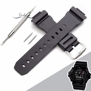 Bộ dây silicone thay cho đồng hồ G Shock DW-6900