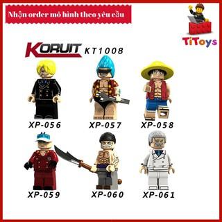 Minifigures các nhân vật đặc biệt trong anime One piece – Đồ chơi Lắp ghép Xếp hình Non Lego KT1008
