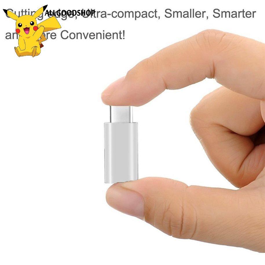 Đầu Chuyển Đổi Usb 3.1 Type-C Sang Micro Usb Cho Iphone