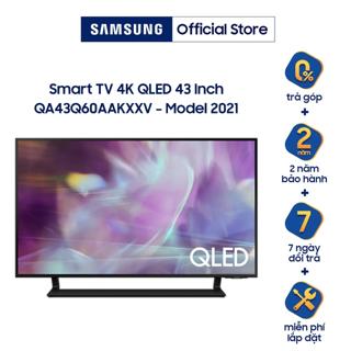 [Nhập SAM1KCE giảm 1 Triệu] Smart Tivi Samsung 43 Inch QLED 4K QA43Q60AAKXXV - Model 2021 - Miễn phí lắp đặt thumbnail