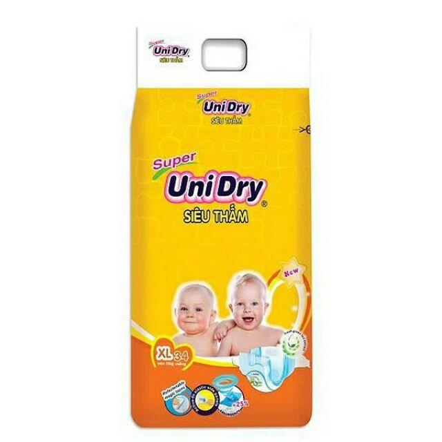 Combo 4 gói tã dán Unidry S46/M42/L38/XL34