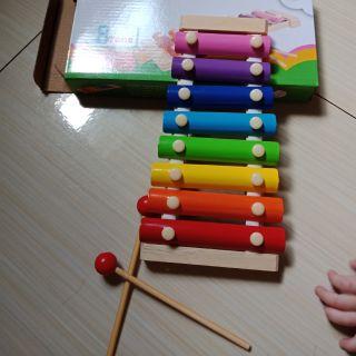 Đàn gõ 8 thanh màu sắc cho bé
