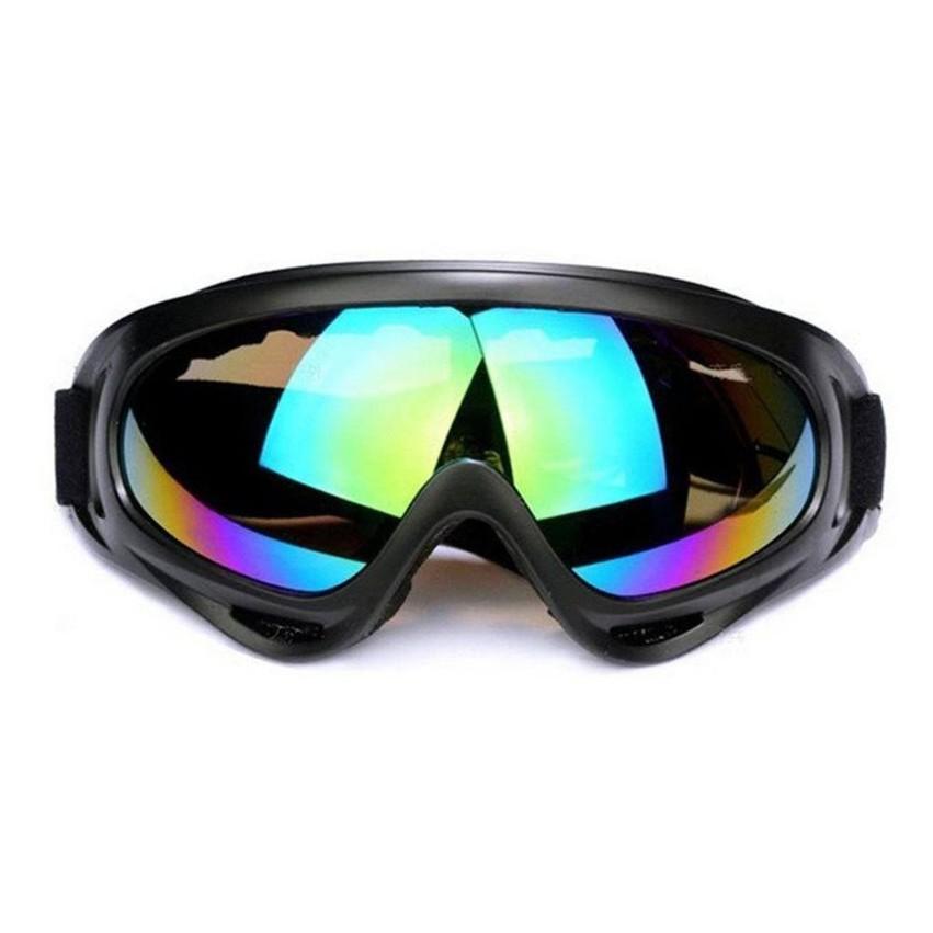 Kính phượt - Kính mũ bảo hiểm UV400 7 màu thời trang Everest