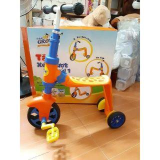 xe scooter xe chòi chân xe đạp 3 trong 1 cho bé