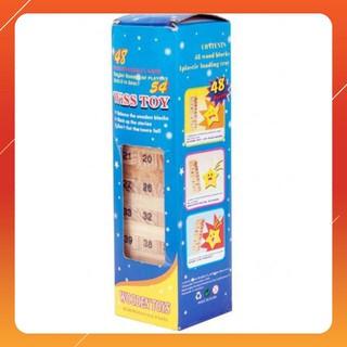 [CỰC ĐẸP] 10 bộ đồ chơi rút gỗ xả stress 54 thanh mini