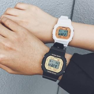 Đồng hồ thể thao nữ SHHORS SANOSI mặt chữ nhật dây cao su size 36x32mm thumbnail