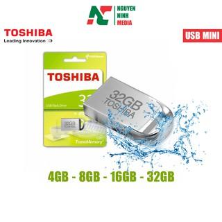 [Mã ELORDER5 giảm 10K đơn 20K] USB TOSHIBA U202 Hợp Kim Nhôm 4GB/8GB/16GB/32GB