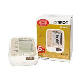Máy đo huyết áp bắp tay tự động Omron Jpn600 sản xuất tại Nhật Bản- Bảo hành 5 năm thumbnail