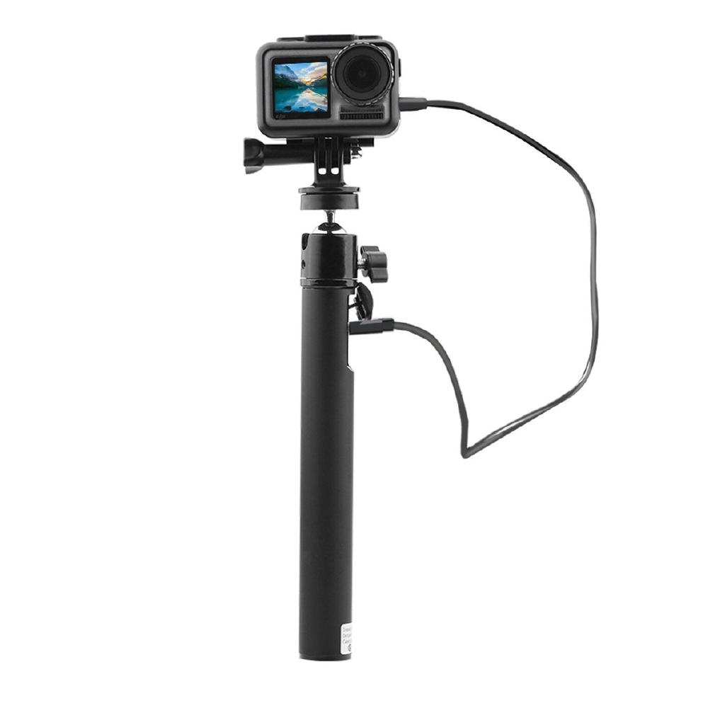 [cam]For Dji Osmo Action Camera Mobile Power Selfie Stick Charging Treasure