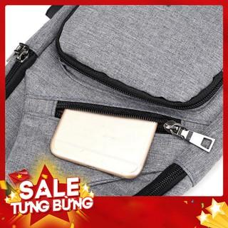 Túi đeo chéo nam nữ thời trang siêu nhẹ có sạc điện thoại TDCN08 , balo nam – Hàng nhập khẩu