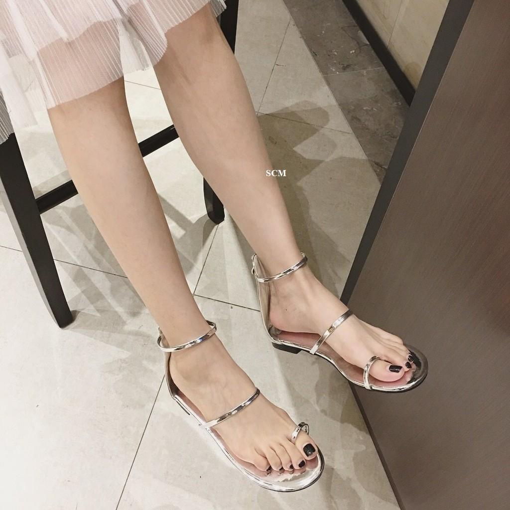 Giày sandal xỏ ngón 3 dây mãnh