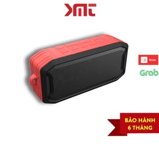Loa bluetooth di động 5.0, chống nước IPX7, âm bass trầm, với thiết kế chắc chắn sang trọng KMT Store LBT04