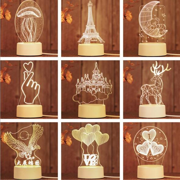 [ XẢ KHO 3 NGÀY 20 Mẫu] Đèn ngủ 3D với 3 chế độ sáng, đèn trang trí, quà tặng sinh nhật, quà tặng bạn gái, quà tặng cu