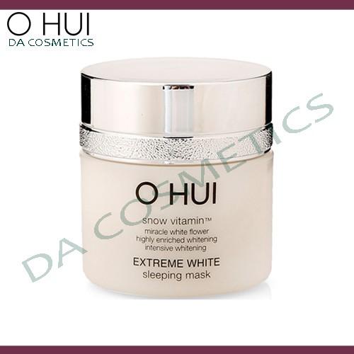 Mặt nạ ngủ dưỡng trắng da Ohui Extreme White Sleeping Mask 7ml