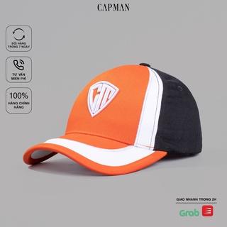 Mũ lưỡi trai CAPMAN chính hãng dáng thế thao CM08 vải kaki cotton dành cho nam nữ thumbnail